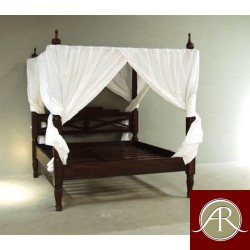 Solid Reclaimed Wooden King/Queen Size Bed