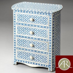 Bone Inlay Handmade Antique Home Decor Furniture Chest of drawer