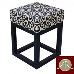 Bone Inlay  Handmade Antique Home Decor Furniture  End Table