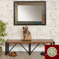 Rustic Reclaimed  Dining Bench