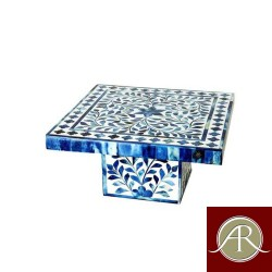 Mother of Pearl Inlay Decorative Cake Stand