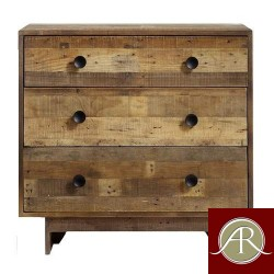 Rustic Solid Reclaimed Wooden Modern Antique Handmade Chest of Drawer
