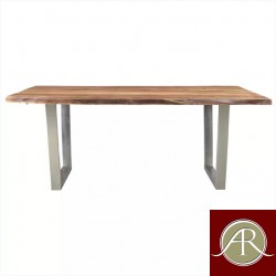 Solid Wood Live Edge Dining Table