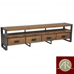 Rustic Solid Reclaimed Wooden Modern Antique Handmade T.V. Unit Or Media Console Table