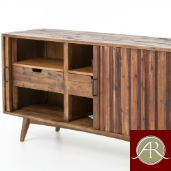 Rustic Solid Reclaimed Wooden Modern Antique Handmade TV Unit