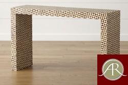 Bone Inlay  Handmade Antique Home Decor Furniture Coffee table