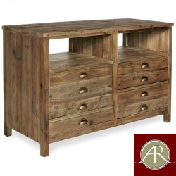Rustic Solid Reclaimed Wooden Modern Antique Handmade Console Table