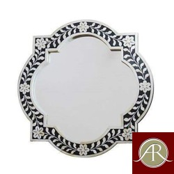 Bone Inlay Antique Handmade Modern Mirror Frame
