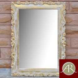Rustic Solid Reclaimed Wooden Modern Antique Handmade Mirror