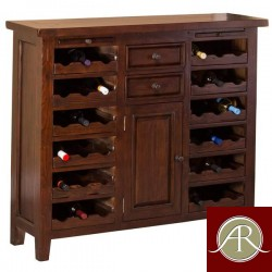 Rustic Solid Reclaimed Wooden Modern Antique Handmade Wine Rack