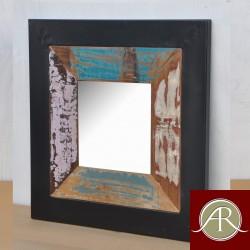 Handmade Solid Reclaimed Rustic Wood Metal Frame Decor Photo Frame
