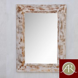 Wooden Mirror Frame Distress colour Style Home Decor Mirror reclaimed Wood