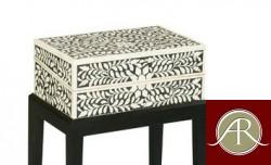Bone inlay Jewellery box - Handmade