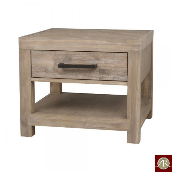 Rustic Solid Reclaimed Wooden Modern Antique Handmade End Table