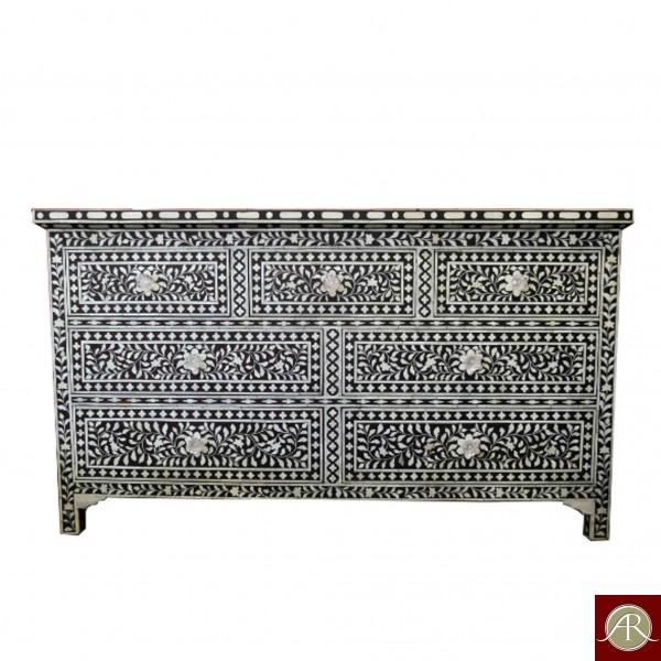 Bone Inlay Handmade Antique Home Decor Furniture Sideboard