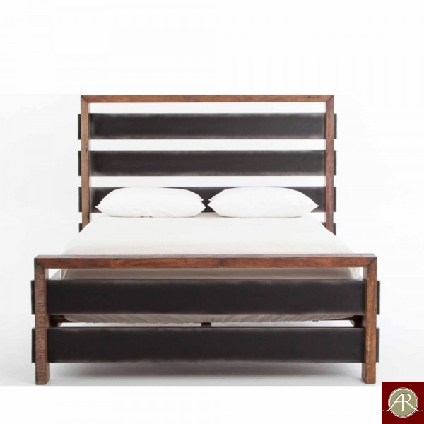 Solid Wooden Bookcase Bed