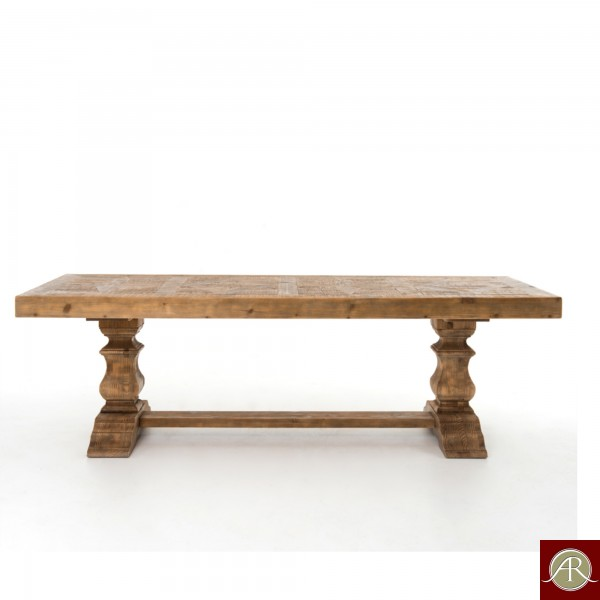 Rustic Solid Reclaimed Wooden Modern Antique Handmade Dining Table