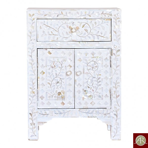 Mother of pearl Bedside
