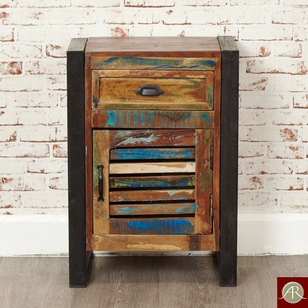 Reclaimed Wood Solid Bedside