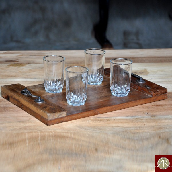 Reclaimed Wood Rustic Serving Tray