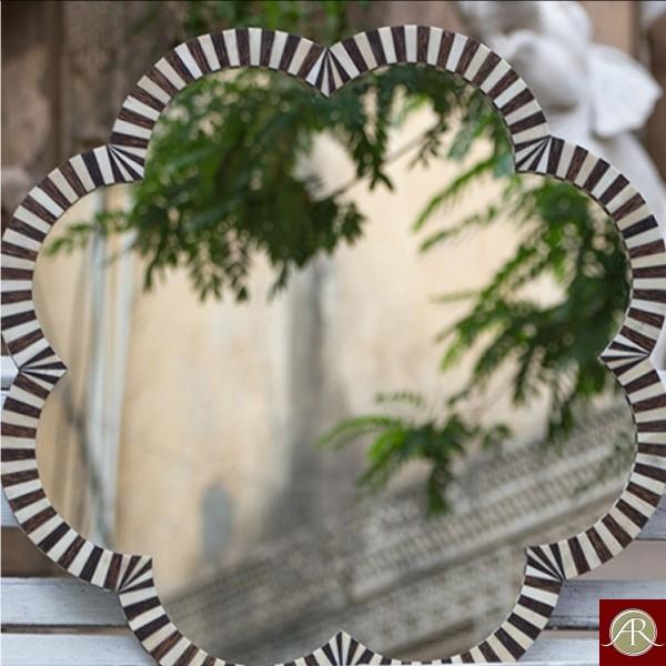 Bone inlay wall mirror | Handmade Antique  Bone Inlay Mirror