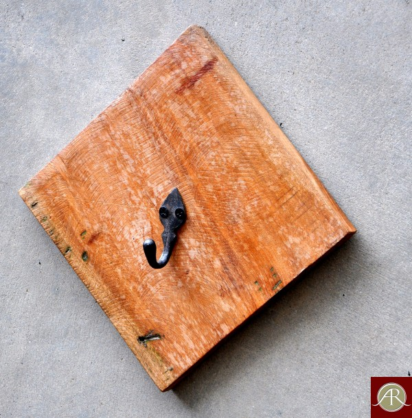 Reclaimed Wood Rustic Wall E Hanger
