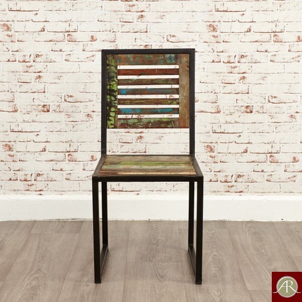 Reclaimed Wood Rustic Dining Chair