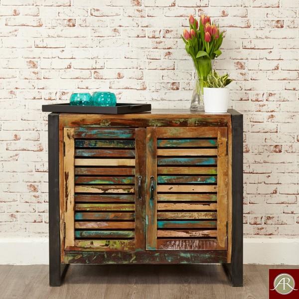 Reclaimed Wood Solid Sideboard