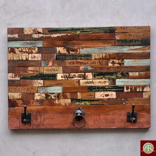 Reclaimed Wood Rustic Wall Hook Hanger