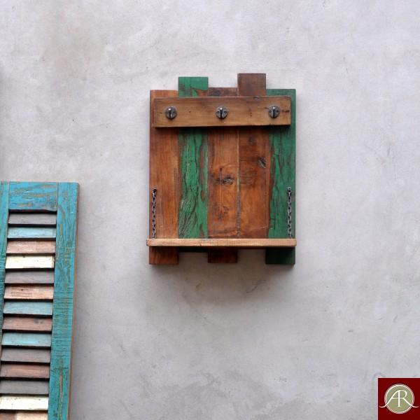 Reclaimed Wood Rustic Wall Self