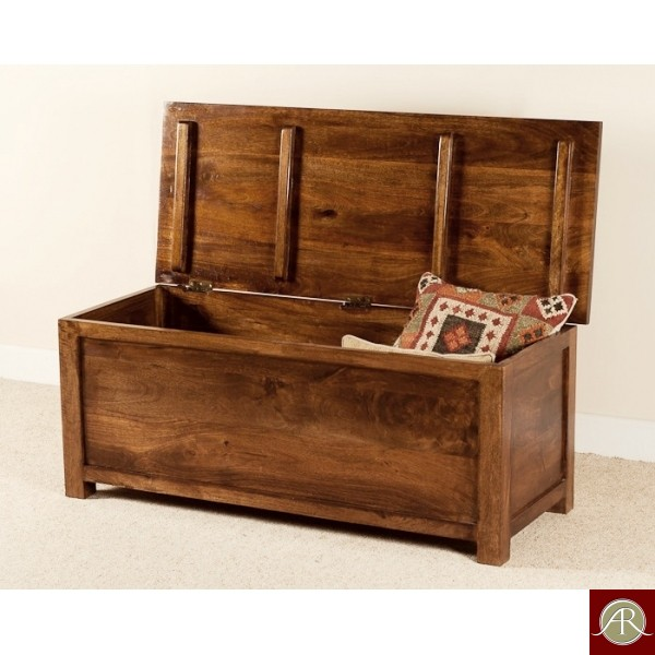 Rustic Solid Reclaimed Wooden Modern Antique Handmade Trunk