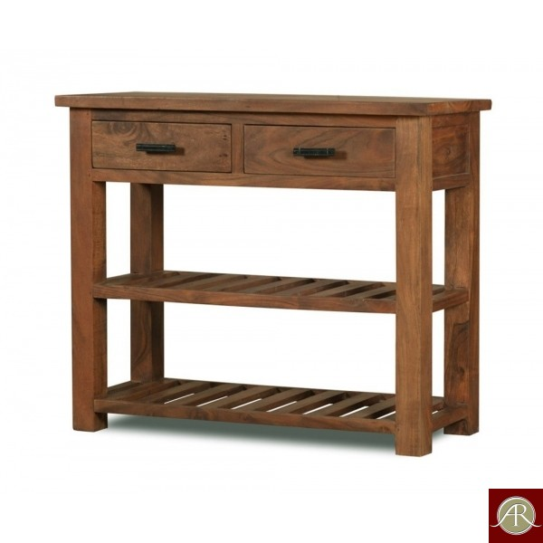 Solid Rustic Wooden Modern Antique Handmade Console Table