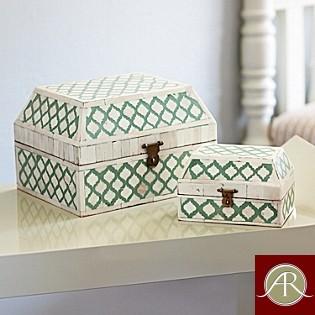 Bone Inlay Box-Handmade Jewellery Box