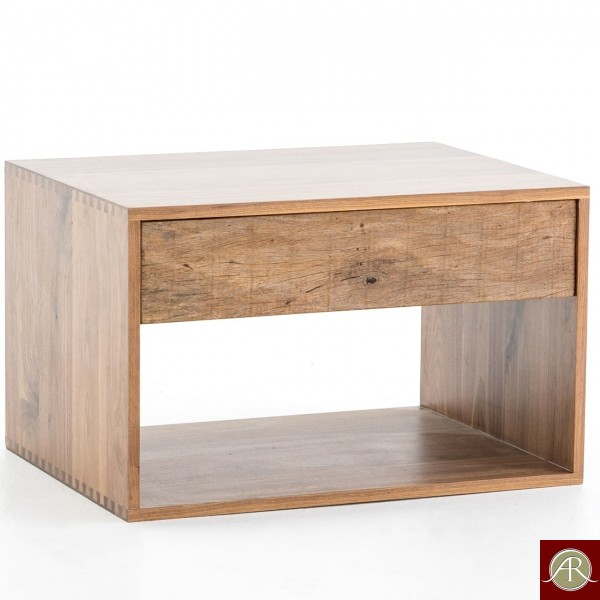 Solid Reclaimed Wooden Modern Antique Handmade Side Table