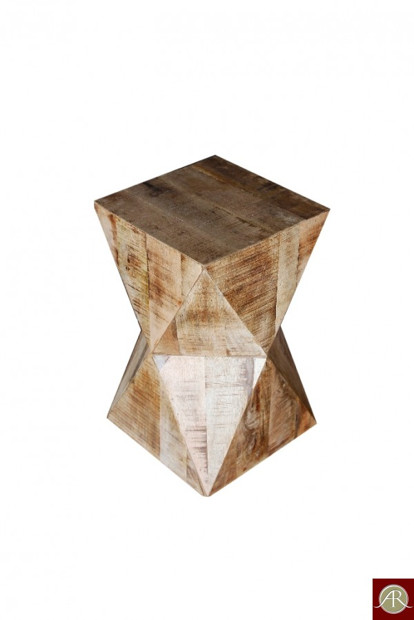 Rustic Solid Reclaimed Wooden Modern Antique Handmade Stool