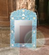 Mother of pearl  Wall Mirror Frame  Handmade Antique Home Decor Furniture