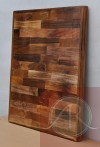 Square Reclaimed Wood Table Top